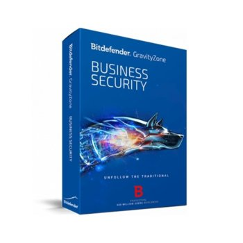 Софтуер Bitdefender GravityZone Business Security, 3 - 14 потребителя, 1 година image