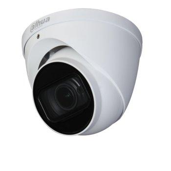 HDCVI камера Dahua HAC-HDW2241T-Z-A-27135, куполна камера, 2 Mpix (1080P(1920x1080/25fps)), 2.7-13.5mm/f1.3 обектив, IR осветеност (до 60 метра), външна IP67 защита, вграден микрофон image