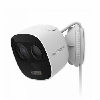 Камера Dahua Imou IPC-C26E, домашна/портативна, 2MP (1920x1080@30 fps), 2.8mm обектив, H.265/H.264, IR осветление (до 10m), вътрешна/външна, Wi-Fi, microSD слот, вградени микрофон и говорител image