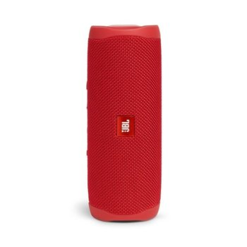 Тонколона JBL Flip 5 RED, 1.0, 20W RMS, USB, Bluetooth, RED, влагоустойчива (IPX7) image