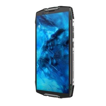 """Смартфон Xiaomi Blackview BV6800 Pro (черен), поддържа 2 sim карти, 5.7""""(14.48 cm) Full HD+ IPS дисплей, осемядрен Mediatek MT6750T 1.5 GHz, 4GB RAM, 64GB Flash памет (+ microSD слот), 12 MPix + 12 MPix & 8 MPix камера, Android, 275 g image"""