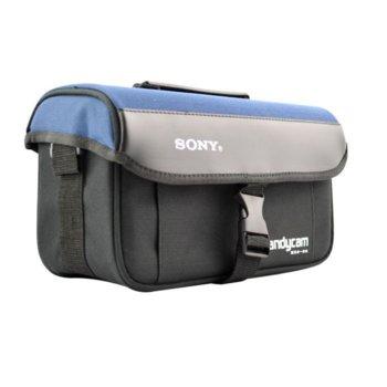 Чанта за камера SONY PVC чернo синя голяма product