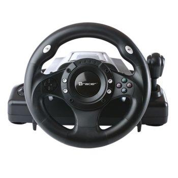 Волан Tracer Drifter (TRAJOY34009), включва педали и лост, черен, за PC/PS3 image
