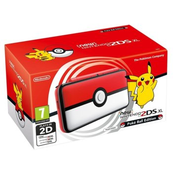 New Nintendo 2DS XL Pokeball Edition product