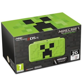 Nintendo 2DS XL Minecraft Creeper Edition product