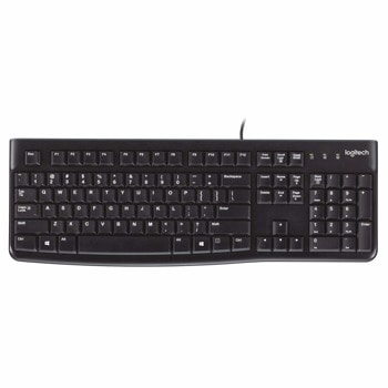 Клавиатура Logitech K120 for Business, (OEM), USB image