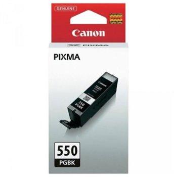 Касета за Canon PIXMA iP7250/MG5450/MG6350 - PGI-550BK-XL - Black - заб: 550k image