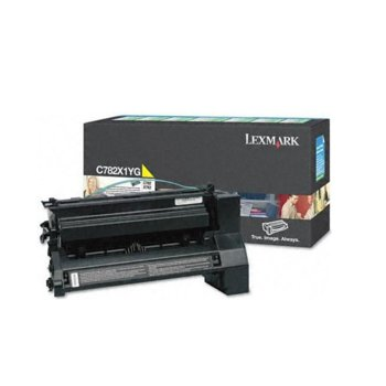 КАСЕТА ЗА LEXMARK C782 - Yellow - Extra High Yield product