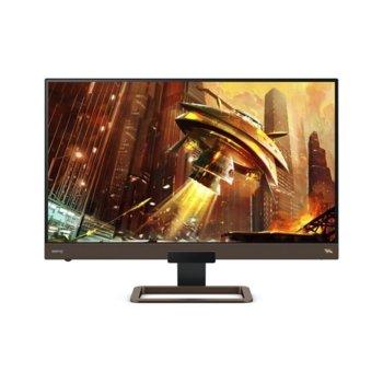 """Монитор BenQ EX2780Q, 27"""" (68.58 cm) IPS панел, 144Hz, WQHD, 5ms, 350cd/m2, DisplayPort, HDMI, USB Type-C image"""