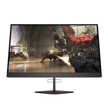 """Монитор HP X 27 (6FN07AA), 27"""" (68.58 cm) TN панел, 240Hz, QHD, 1ms, 1000:1, 400cd/m2, DisplayPort, HDMI, USB  image"""