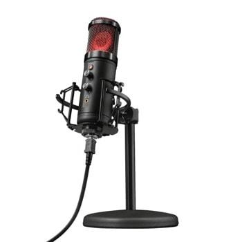 Микрофон Trust GXT 256 Exxo, USB, 30Hz-18kHz, черен image
