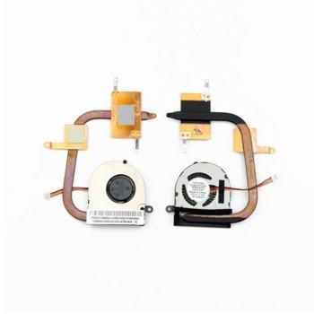 Вентилатор за лаптоп Asus, съвместим с Asus EEE PC 1015 1015T 1015B 1015PE 1015P image