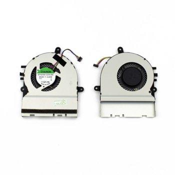 Вентилатор за лаптоп Asus, съвместим с Asus X302 X302L (4 pins) image