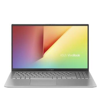 "Лаптоп Asus VivoBook15 X512DA-EJ389 (90NB0LZ2-M10000)(сребрист), четириядрен Zen 2 AMD Ryzen 7 3700U 2.32/4.0 GHz, 15.6"" (39.62 cm) Full HD Anti-Glare Display, (HDMI), 8GB DDR4, 512GB SSD, 1x USB 3.1 Type C, Linux image"