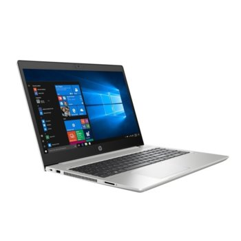 "Лаптоп HP ProBook 450 G7 (8VU15EA)(сребрсит), четириядрен Comet Lake Intel Core i5-10210U 1.6/4.2 GHz, 15.6"" (39.62 cm) Full HD IPS Anti-Glare Display & GF MX130 2GB, (HDMI), 8GB DDR4, 256GB SSD, 1x USB 3.1 Type-C, Free DOS  image"