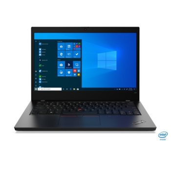"Лаптоп Lenovo ThinkPad L14 (20U10014BM/3), четириядрен Comet Lake Intel Core i5-10210U 1.6/4.2 GHz, 14.0"" (35.56 cm) Full HD IPS Anti-glare Display, (HDMI), 8GB DDR4, 512GB SSD, 1x USB-C Gen 2, Windows 10 Pro image"