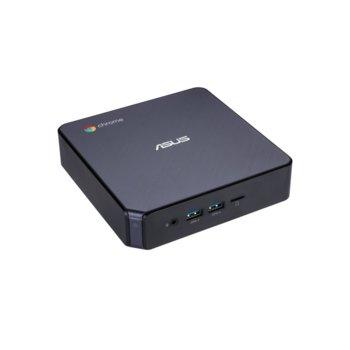 Мини компютър Asus ASUS Chromebox 3-N008U, двуядрен Kaby Lake i3-7100U 2.4GHz, 4GB DDR4 RAM, 64GB SSD, USB 3.1 Gen 1 Type-C, Chrome OS image