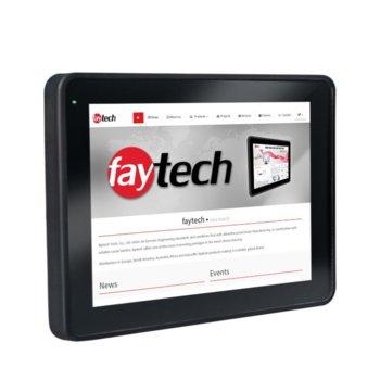 """Индустриален Тъч Компютър Faytech 1010501755 FT10I5CAPOB, двуядрен Kaby Lake Intel Core i5-7300U 2.6/3.5 GHz, 9.7"""" (24.63 cm) HD Touchscreen Display, 8GB DDR4, 128GB SSD, 2x USB 3.0, Linux image"""
