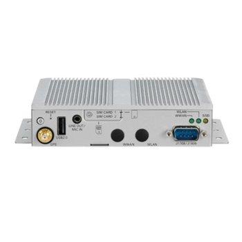 Индустриален компютър Nexcom VTC1910-S (10V00191002X0), едноядрен Intel Atom E3815 1.46 GHz, 2GB DDR3L, 64GB SSD, USB, Windows image
