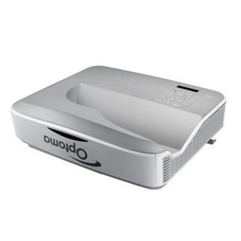 Проектор Optoma ZH400UST, DLP, Full HD (1920x1080), 100 000:1, 4000 lm, LAN, HDMI, VGA, USB, miniUSB image