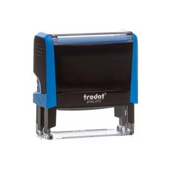 Автоматичен печат Trodat 4915 син, 25/70 mm, правоъгълен image