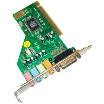 Звукова карта Estillo C-Media 8738, 4+1, PCI image