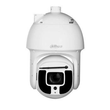 IP камера Dahua SD8A240WA-HNF, управляема PTZ, 2MP (1920x1080@60fps), 5.6-223mm обектив, H.265+/H.265/H.264+/H.264/MJPEG, IR осветленост (до 500м), външна IP67, Hi-PoE, 1x RJ45 10M/100M Base-TX, 1x RS485, microSD слот image