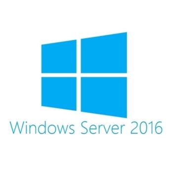 Сървърен софтуер Microsoft Windows Server 2016 Standart, 64-bit, Английски, 1pk DSP, 16 Core image