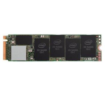Памет SSD 2TB Intel 660p, NVMe, M.2 (2280), скорост на четене 1800 MB/s, скорост на запис 1800 MB/s image