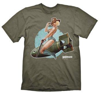Тениска Gaya Entertainment Wolfenstein Pin-Up, размер S, зелена image