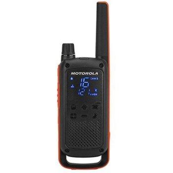 Радиостанции Motorola Talkabout T82 PMR, PMR446, 16 канала, до 10 km, защита от намокряне IPx2, лесно сдвояване, LED фенерче, дискретен дисплей с подсветка, черни image