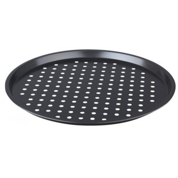 Тава за пица Klausberg KB 7196, 33 см, алуминий, незалепващо покритие, черен image