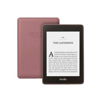 "Електронна книга Amazon Kindle Paperwhite 2018 г.(лилав), 6"" (15.24 cm) сензорен екран, процесор 1Ghz, 256MB RAM, 32GB Flash памет, WiFi 802.11n, Linux, 206g image"