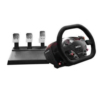Волан с педали Thrustmaster TS-XW Racer Sparco P310 Competition Mod, до 1080° ъгъл на въртане, 1:1 реплика на волан Sparco P310, 40W TS-XW Racer мотор с Force Feedback, USB, за PC/Xbox One image
