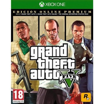 Игра за конзола Grand Theft Auto V - Premium Online Edition, за Xbox One image