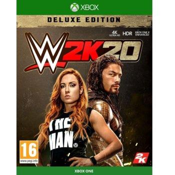 Игра за конзола WWE 2K20 - Deluxe Edition, за Xbox One image