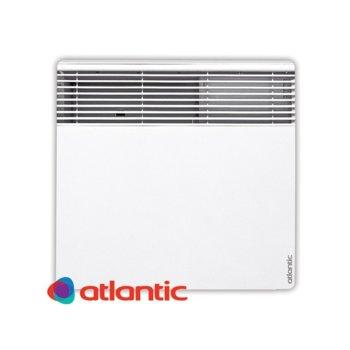 """Конвектор Atlantic F127 Design, 500W, стенен, до 7 м2 отопляема площ, LCD дисплей, Функция """"Отворен прозорец"""", бял image"""