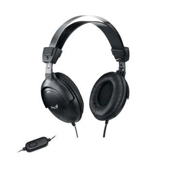 Слушалки Genius HS-505X черни микрофон product
