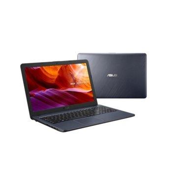 "Лаптоп Asus X543UA-DM1469 (90NB0HF7-M24510)(сив), двуядрен Kaby Lake Intel Core i3-7020U 2.30 GHz, 15.6"" (39.62 cm) Full HD Anti-Glare Display, (HDMI), 4GB DDR4, 1TB HDD, 1x USB 3.1, ENDLESS OS, 1.90 kg image"