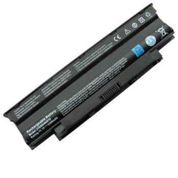 Батерия (заместител) за лаптоп Dell Inspiron N3010, съвместима с N4010/N5010/N5030/N7010/M5010/M5030, 9cell, 11.1V, 6600 mAh image