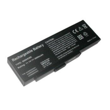 Батерия (заместител) за ADVENT 8389, съвместима с 8889/8089/NEC M500/E680/FUJITSU-SIEMENS K7600, 9cell, 11.1V, 6600mAh image