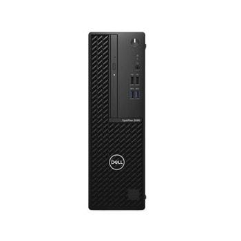 Настолен компютър Dell OptiPlex 3080 SFF (DTO3080SFFI5105058G1T_UBU-1), шестядрен Comet Lake Intel Core i5-10505 3.2/4.6 GHz, 8GB DDR4, 1TB HDD, клавиатура и мишка, Linux image