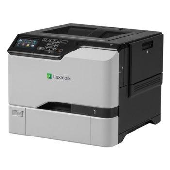 Лазерен принтер Lexmark CS720de, цветен, 1200x1200 dpi, 38/38стр/мин, LAN, USB image