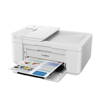 Мултифункционално мастиленоструйно устройство Canon PIXMA TR4551, цветен принтер/копир/скенер/факс, 4800 x 1200 dpi, 19 стр./мин, USB, Wi-Fi, A3  image
