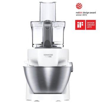Кухненски робот Kenwood MultiOne KHH326WH, 1000W, 4.3L купа, бял image