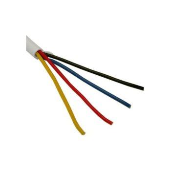 Сигнален СОТ кабел, 4x 0.22, неекраниран, 100m image