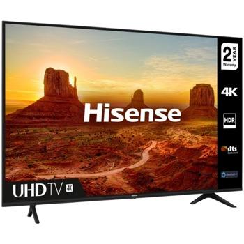 """Телевизор Hisence 50A7100F, 50"""" (127 cm) 4K Ultra HD Smart LED TV, DVB-T2/T/C/S2/S, LAN, Wi-Fi, 3x HDMI, 2x USB image"""
