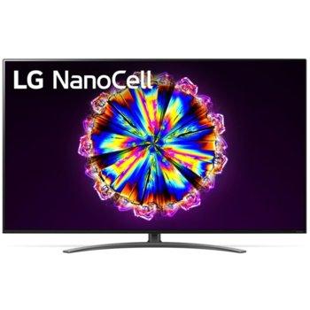 """Телевизор LG 55NANO913NA в комплект с слушалки LG TONE Free HBS-FN4, 55"""" (139.70 cm) 4K/UHD HDR Smart TV, DVB-T2/C/S2, Wi-Fi, LAN, Bluetooth, 4x HDMI, 3x USB image"""
