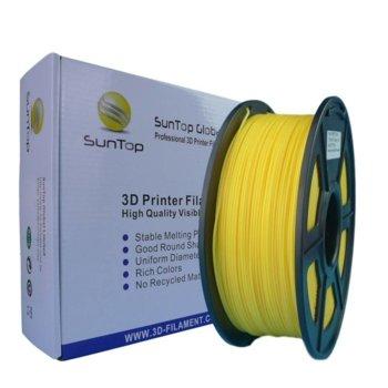 Консуматив за 3D принтер, PLA, 1.75mm, жълт, 1kg image