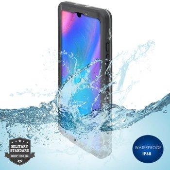 Калъф за Huawei P30, хибриден, 4Smarts Rugged Active Pro STARK 4S467494, удароустойчив, водоустойчив, черен image